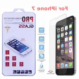 For iPhone 7 Tempered GLASS Screen Protector Bubble Free HD