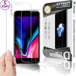 WITKEEN Defenslim IP-7G 2Pack iPh.7/8 Tempered Glass Screen
