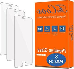 TheCoos Tempered Glass Screen Protector for Apple iPhone 8