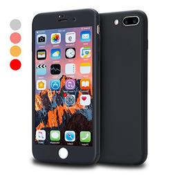 iPhone 8 Plus Case, VANSIN 360 Full Body Protection Hard Sli
