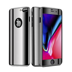 Leagway iPhone 8 Plus Case Cover, Ultra Slim Electroplate 36