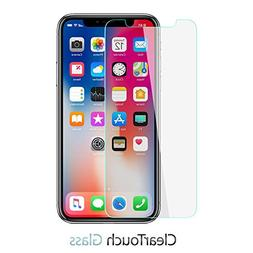 iPhone X Screen Protector, BoxWave  9H Tempered Glass Screen