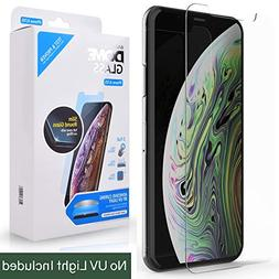 iPhone X/XS Screen Protector Tempered Glass, Full Cover Scre