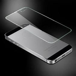 iPhone SE 5 5G 5S Film,LANDFOX Front & Back Tempered Glass F