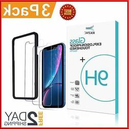 iPhone X Tempered Glass Screen Protector XS 2018 Maxboost Cl