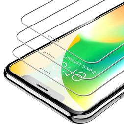 3-Pack UNBREAKcable iPhone X XS Screen Protector Tempered Gl