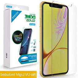 iPhone XR Screen Protector Tempered Glass, Full Cover Screen