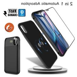 For iPhone XR/X/XS Max Wireless Charger Battery Power Bank C