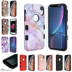 For iPhone XS Max XR X Tuff Hybrid Shockproof Hard Case Cove