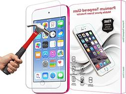 iPod Touch 6 Screen Protector, PThink Nano Slim Tempered Gla