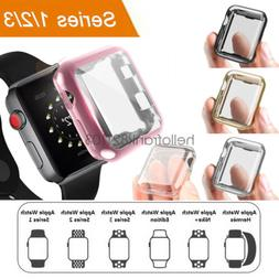 iWatch 38mm 42mm Screen Protector Case Snap On Cover for App