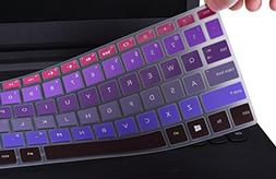 """Keyboard Cover for 2018 Flagship HP Pavilion 15.6"""" TouchScre"""