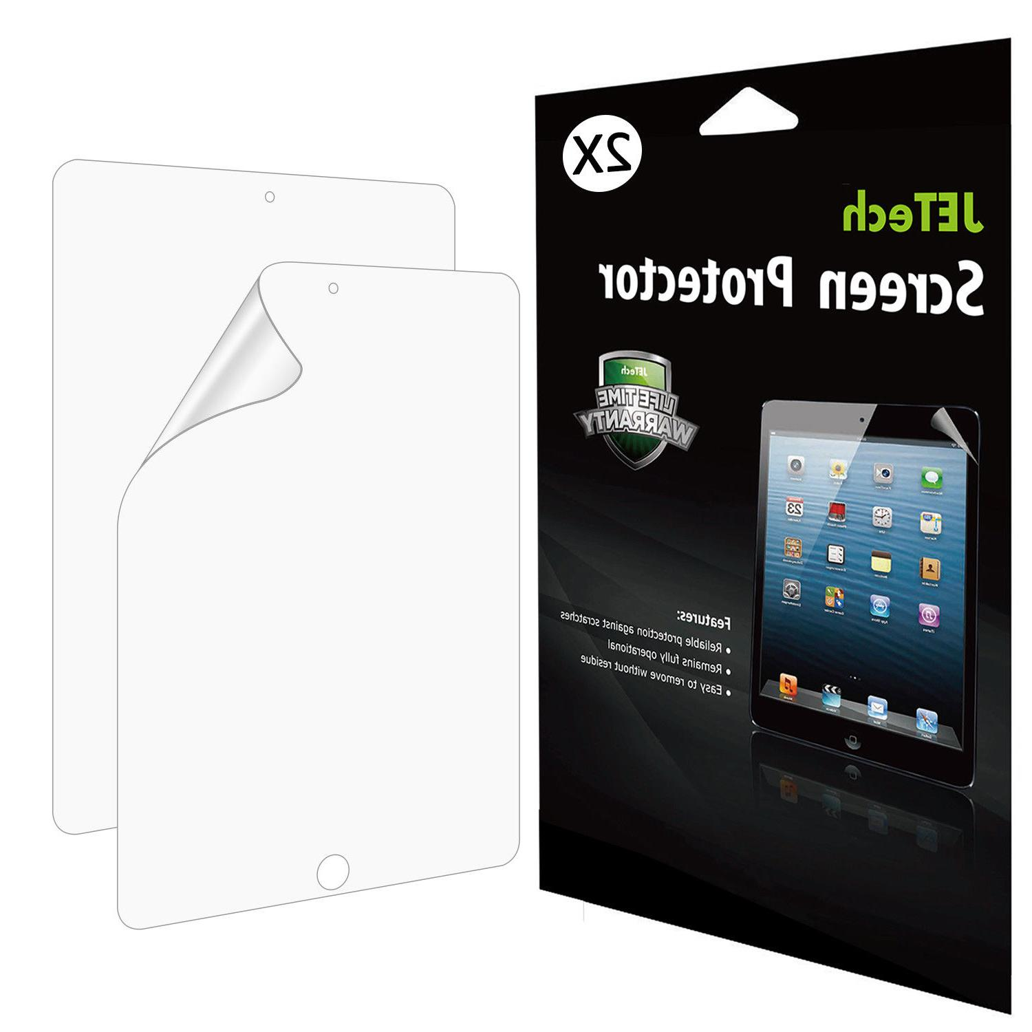 JETech Screen Protector for iPad Pro 12.9  PET HD Film 2-Pac