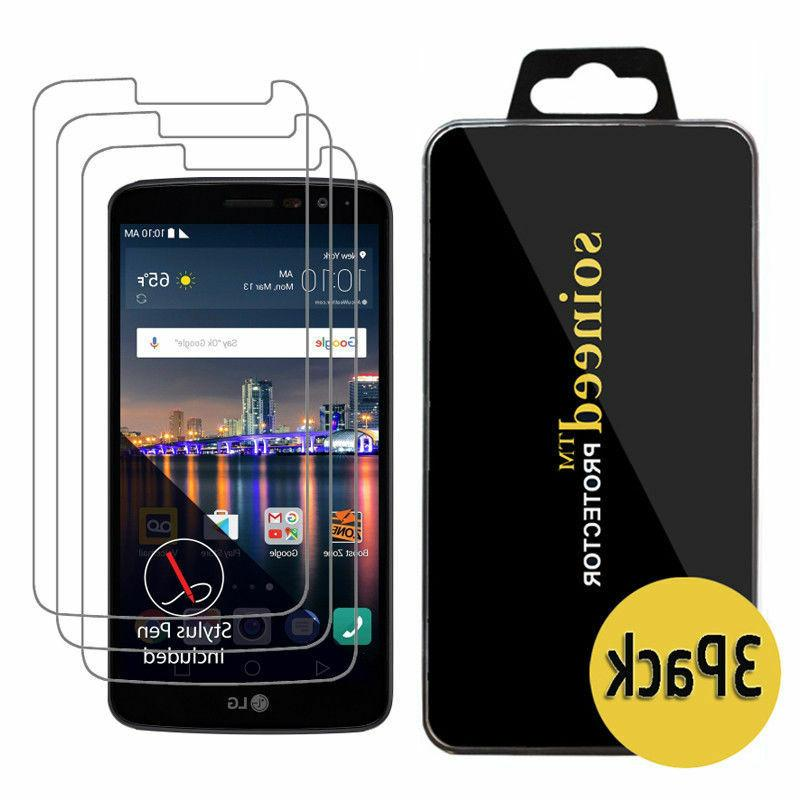 {1-10 Pack} Stylo 3 Tempered Screen Protector