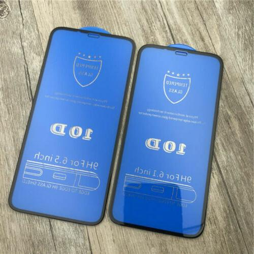 10D X XS MAX Full Tempered Glass Protector