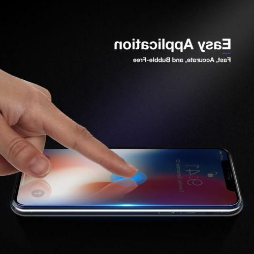 10D Curve iPhone X XS Full Cover Glass Screen Protector