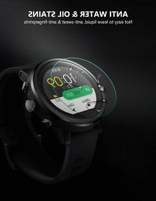 Tempered Screen Smart Watch Protective Film Dia.