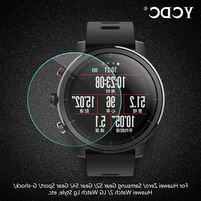 Tempered Glass Screen Protector Smart Watch Protective Slim