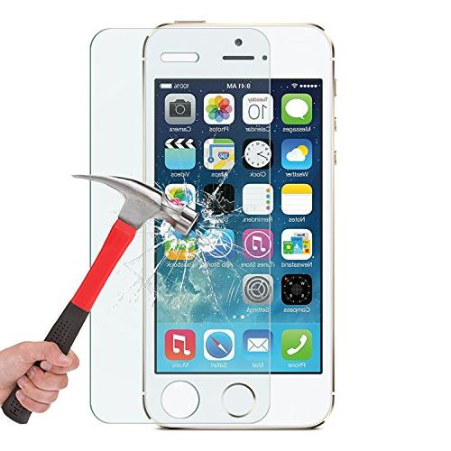 OMOTON 2.5D Edge 9H Screen for iPhone SE/ - Clear
