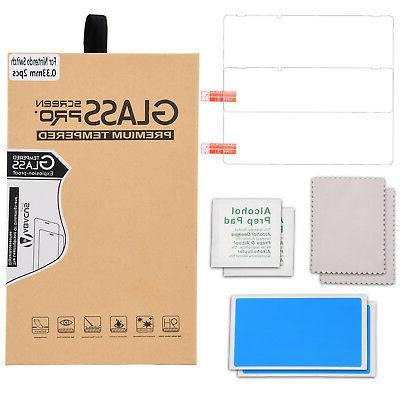 2-PACK Crystal Tempered Screen Protector for Switch