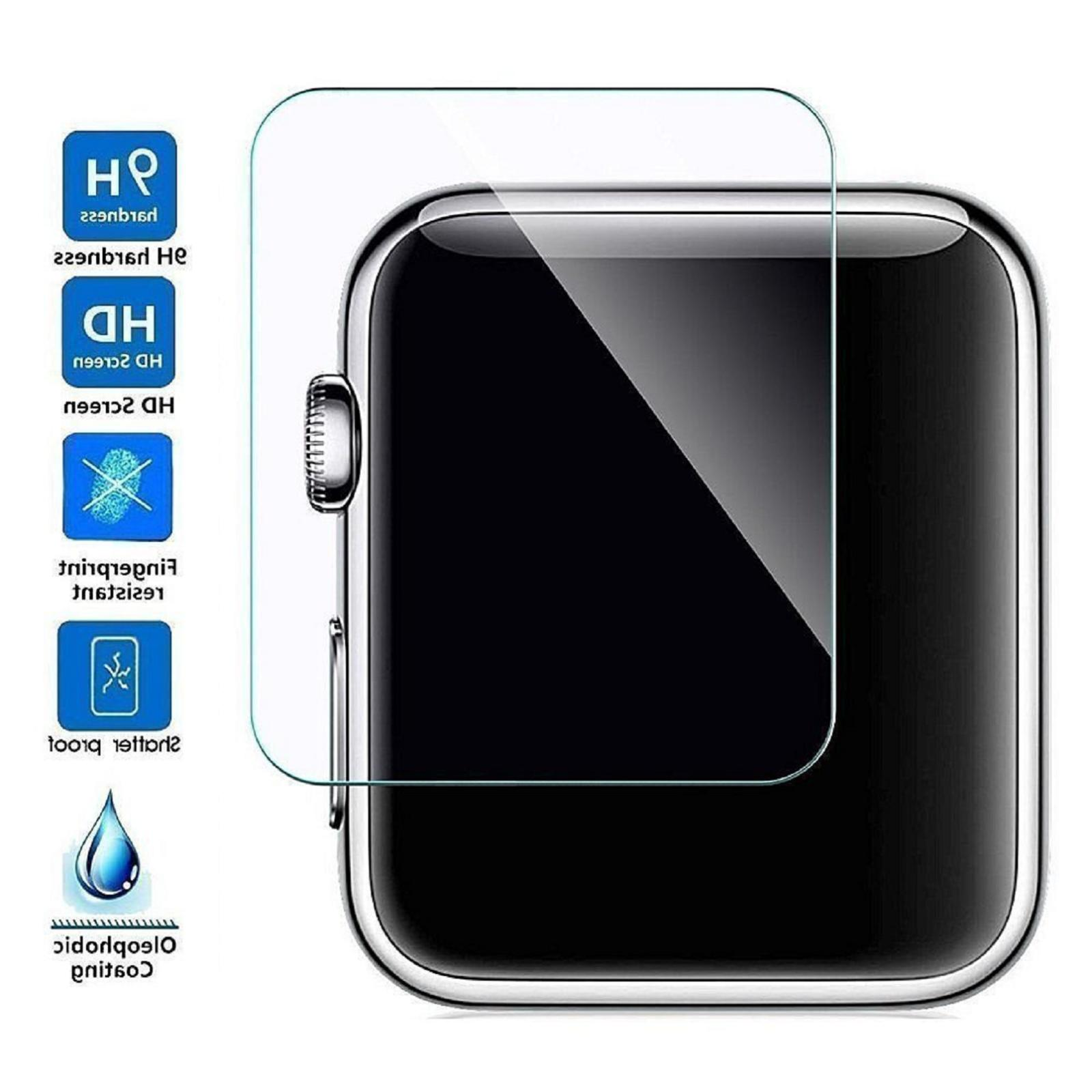3-PACK Tempered Glass Protector For 38mm/42mm