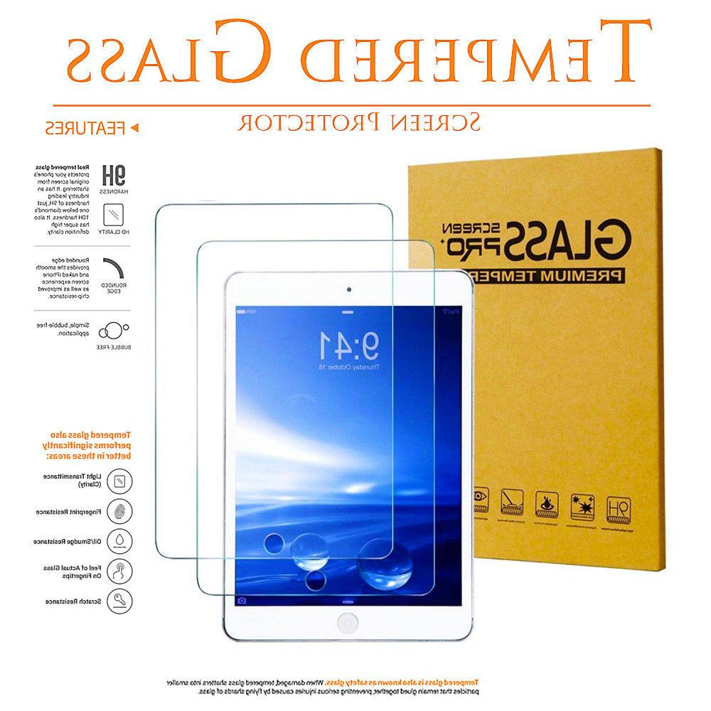 2x Tempered Glass Screen Protector for iPad 2 3 4 5th 6th Pr