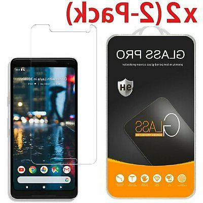 2-Pack Tempered Glass Coverage Screen Protector for Google P