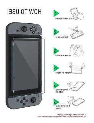 2-Pack For Nintendo Switch Tempered Screen Protector