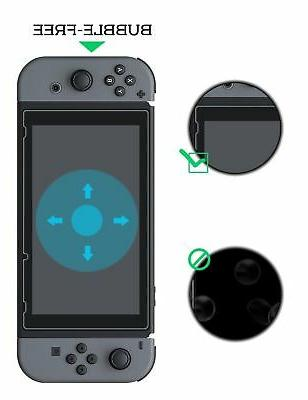 2-Pack Glass For Switch Premium Screen