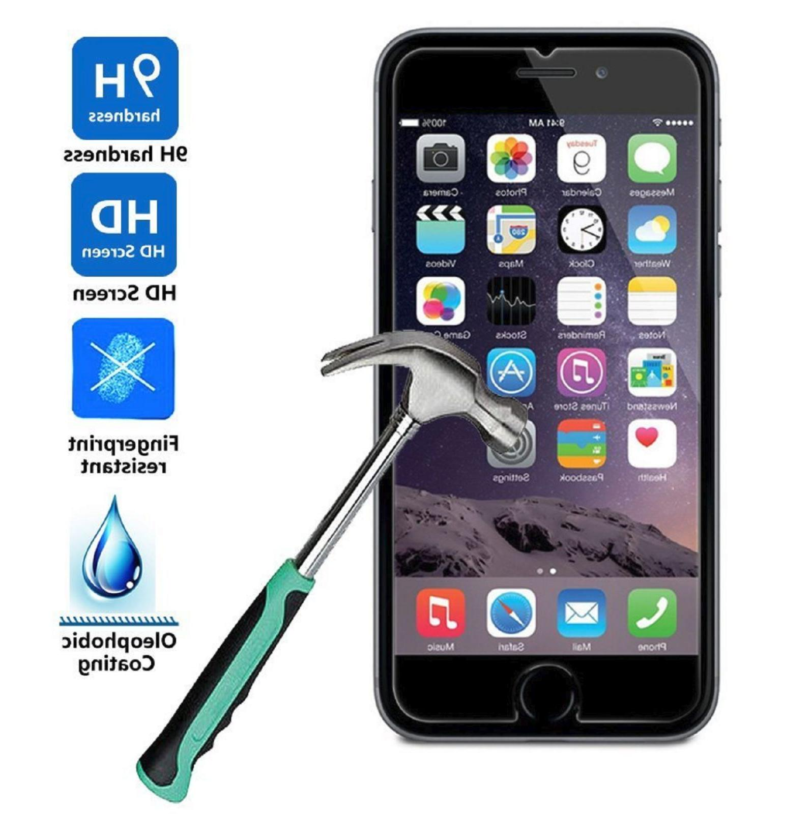 2-PACK Premium Real Tempered Glass Film for iPhone 6 / 6