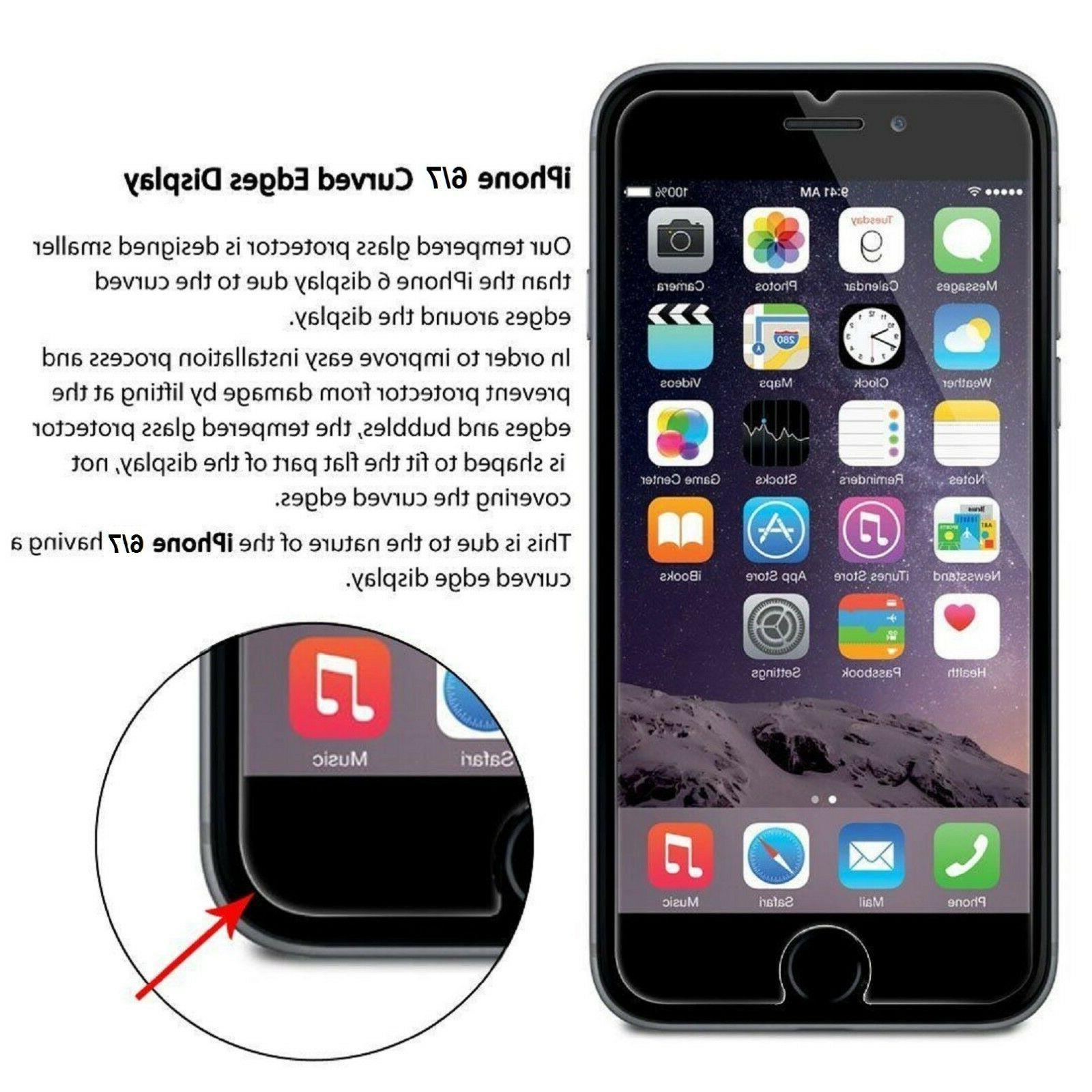 2-PACK Premium Real Glass for 6 Plus
