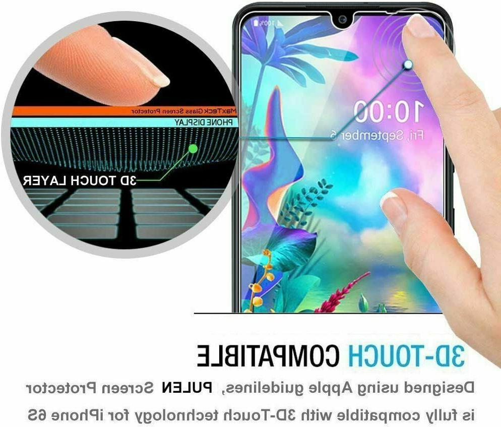 2-Pack Tempered Clear HD Protector A20