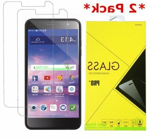 2Pack Tempered Glass Screen Protector For LG Aristo 2/2 Plus