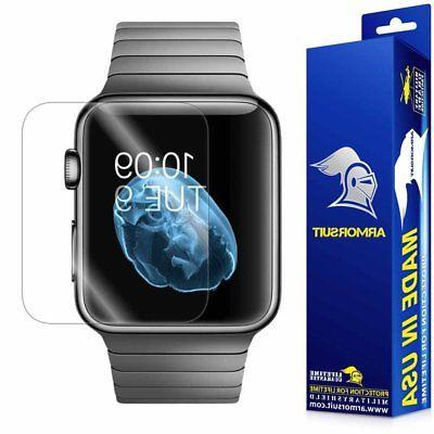 2pack armorsuit militaryshield for apple watch series