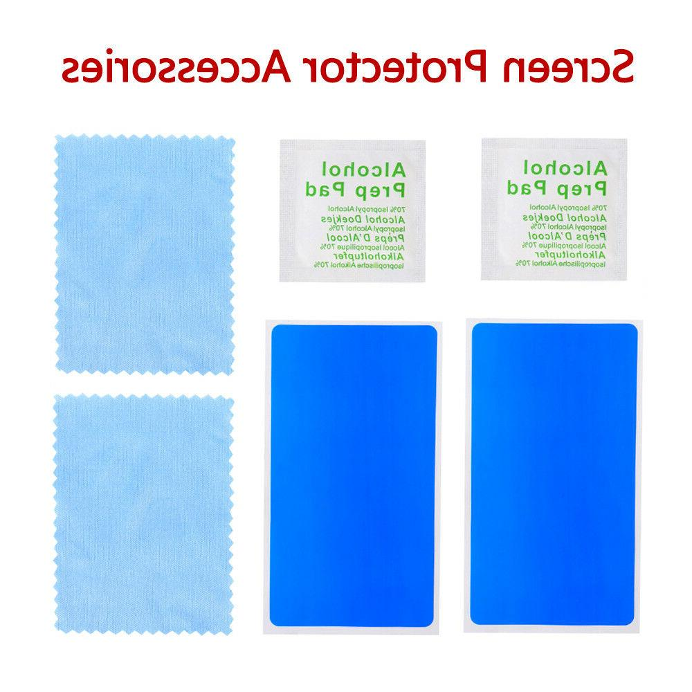 2x For 7 Plus Tempered Glass Screen Protector Filter Film