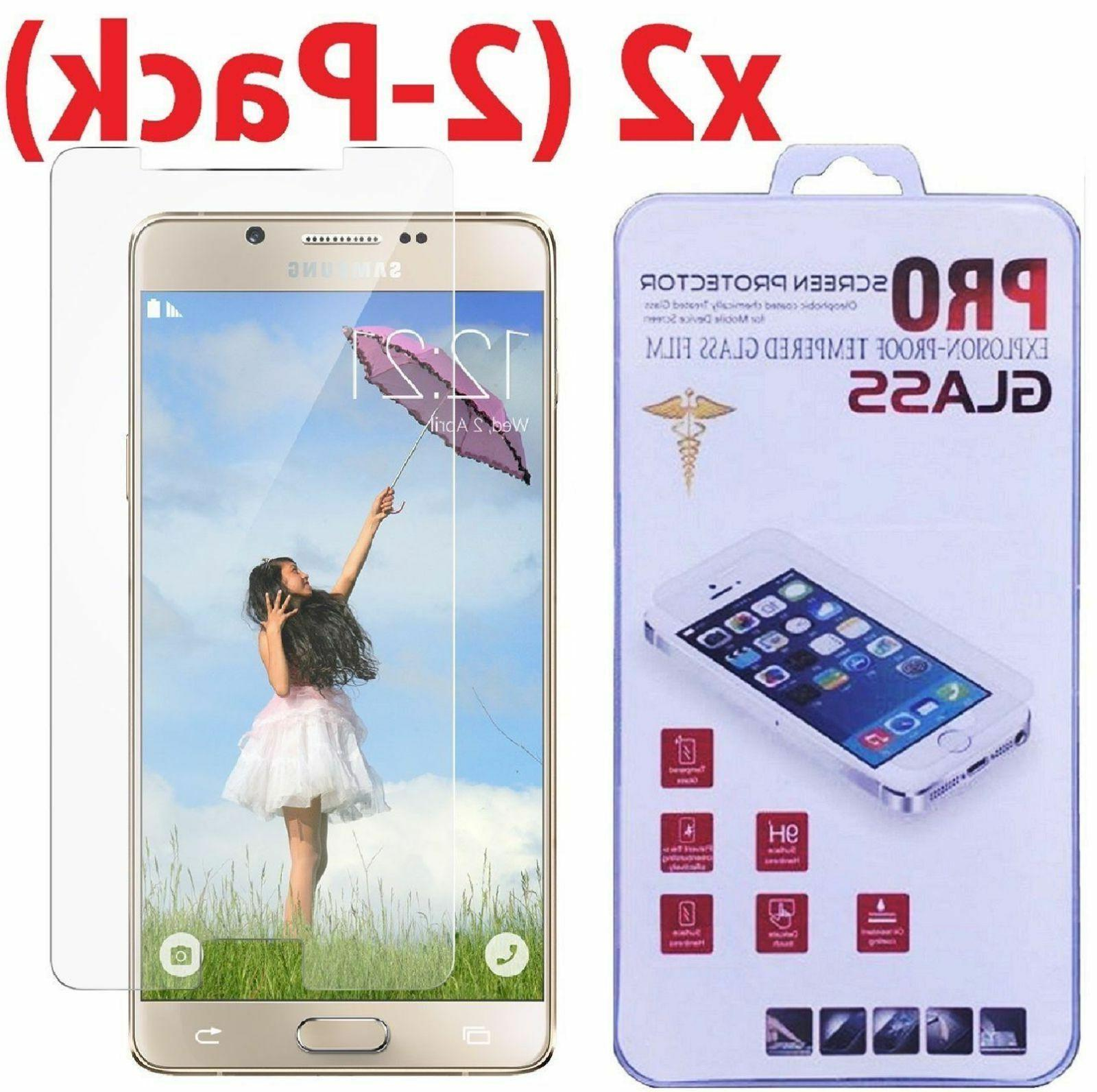 2x premium real tempered glass screen protector