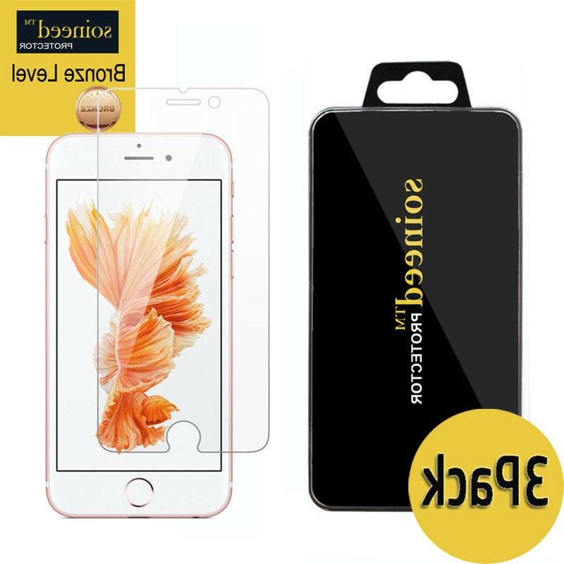 "SOINEED Apple "" iPhone 6S "" Tempered Glass Screen Protecto"