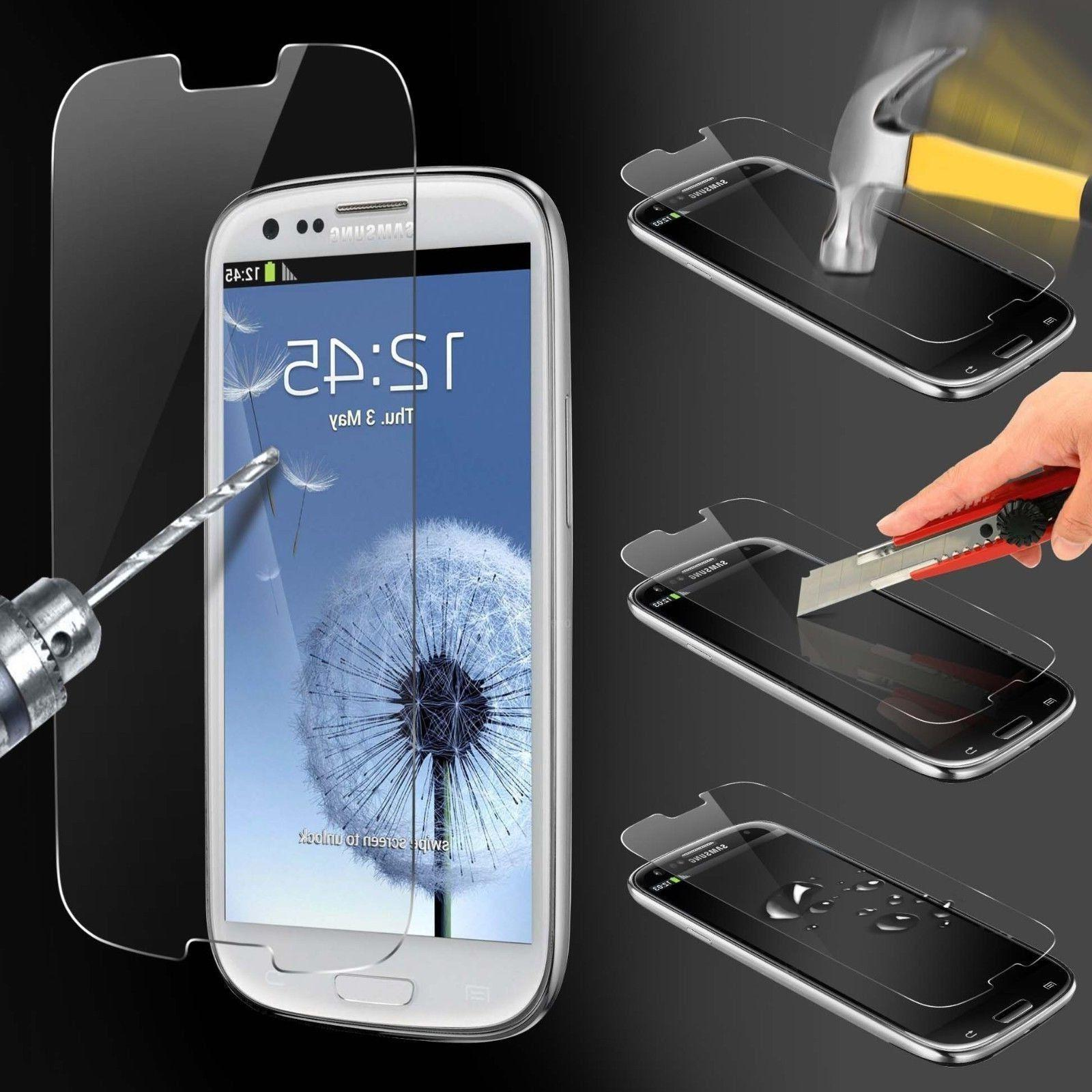 3-Pack Tempered Glass Screen Protector S3 Note 2