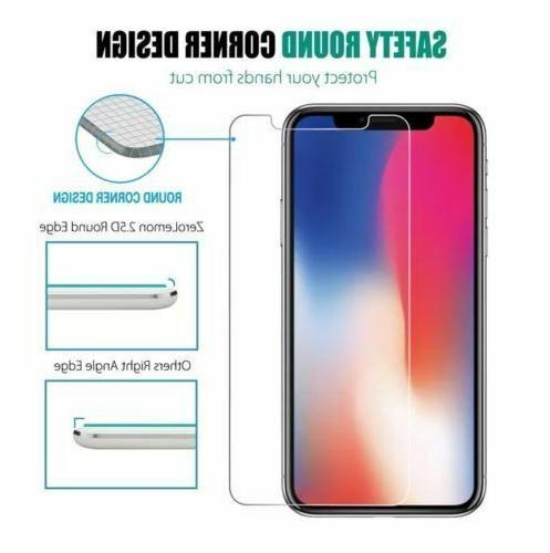 3-Pack 9H Premium for iPhone X, XS Screen