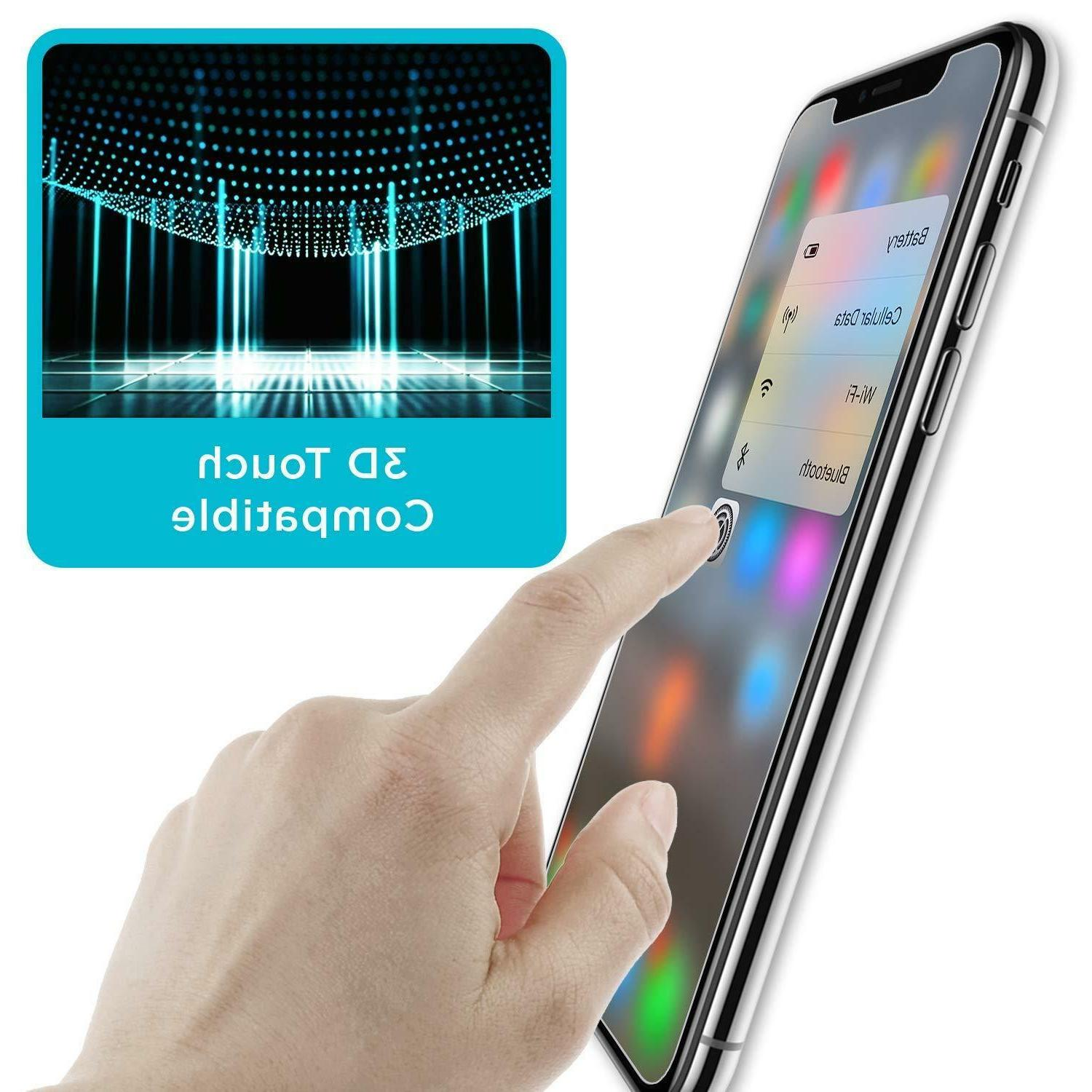 3-Pack 9H Premium for iPhone X, XS, XS Max Screen