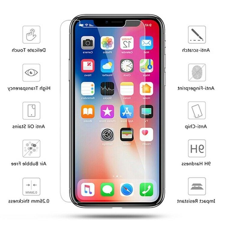 3-Pack For 11 6s 5 XS Max Screen Protector