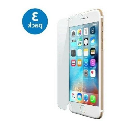 3-Pack iPhone 6/7/8/Plus/11/11PRO/11PRO MAX Tempered GLASS Screen