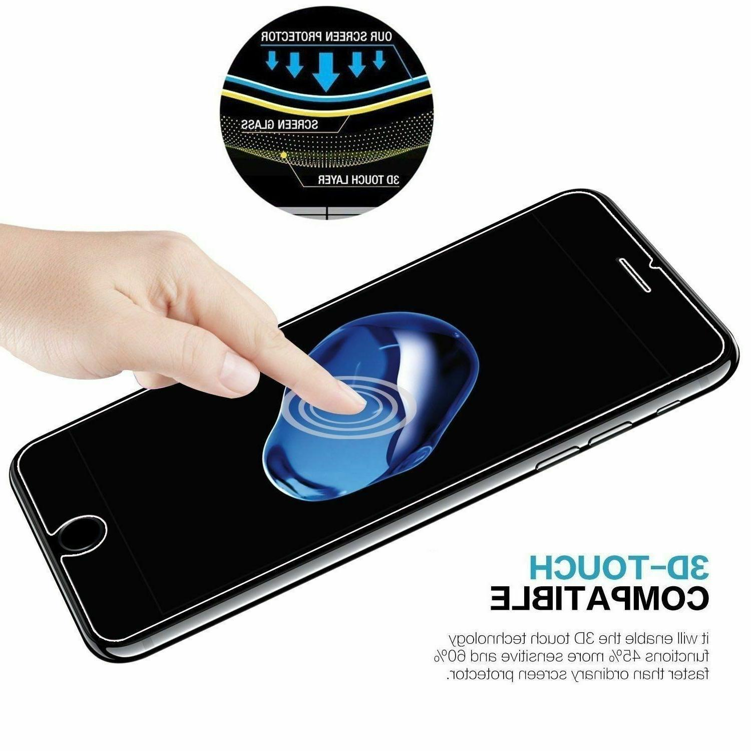 3-Pack 7 / 8 Tempered Screen Protector Bubble Free 11