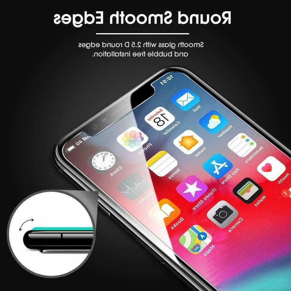 3-Pack 6 7 8 Tempered GLASS Bubble Free XS