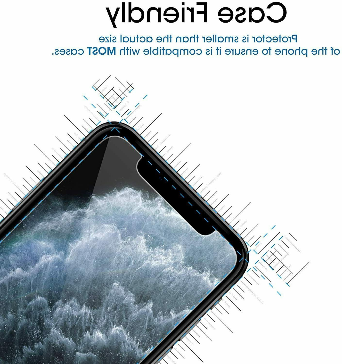 3-Pack Tempered GLASS Screen X Xs XR Xs