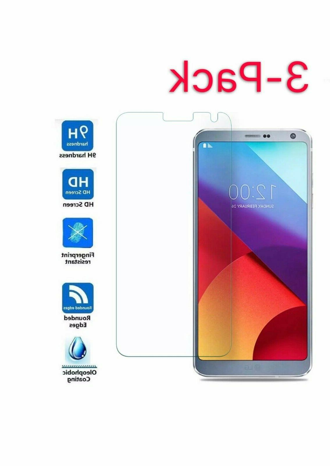 3 pack premium tempered glass screen protector