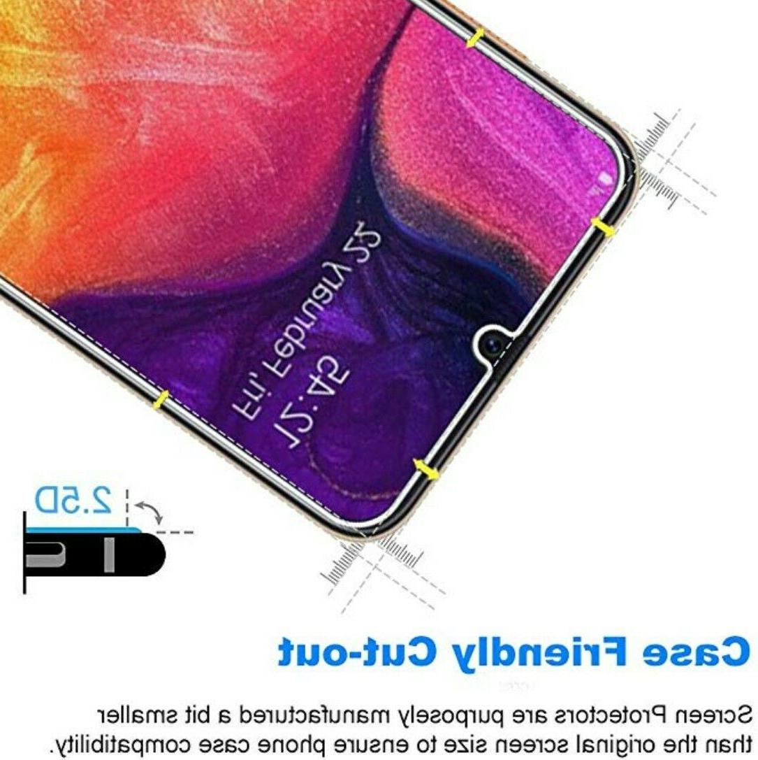 3-Pack Glass HD Screen Protector For Samsung Galaxy