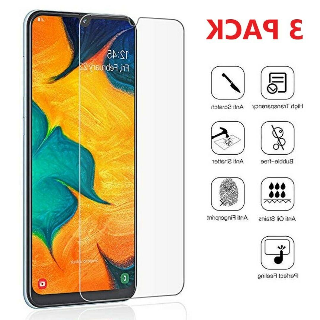 3 pack tempered glass clear hd screen