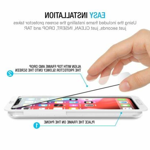 3 Packs 0.25mm Screen Protector for iPhone X Clear