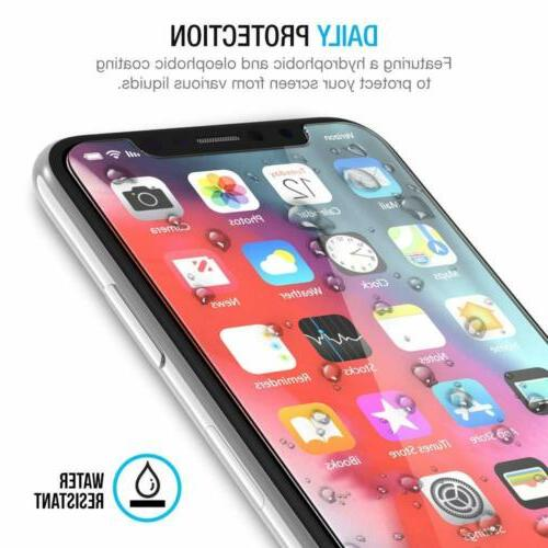 3 Packs 0.25mm Screen Protector Compatible for iPhone Xs X